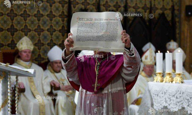 Începutul slujirii noului arhiepiscop și mitropolit de București, mons. Aurel Percă