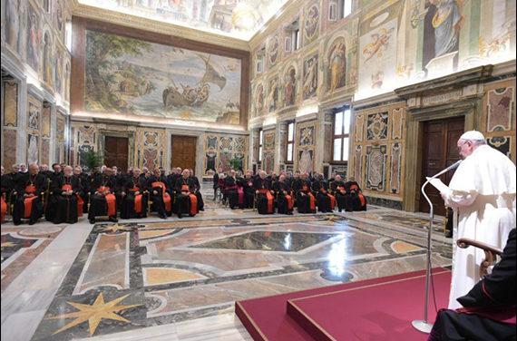 Papa Francisc: Discurs adresat participanţilor la Adunarea Plenară a Congregaţiei pentru Doctrina Credinţei (30 ianuarie 2020)