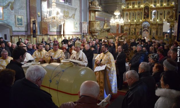 """Sărbătoarea Botezului Domnului în Catedrala """"Sfântul Nicolae"""""""