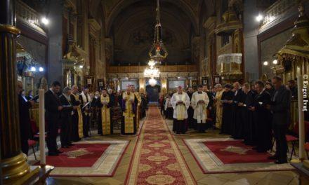 ÎNCHEIEREA DECADEI DE RUGĂCIUNE PENTRU UNITATEA CREŞTINILOR