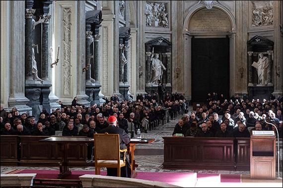 Discurs al Sfântului Părinte pentru liturgia penitenţială, citit de cardinalul Angelo De Donatis (27 februarie 2020)