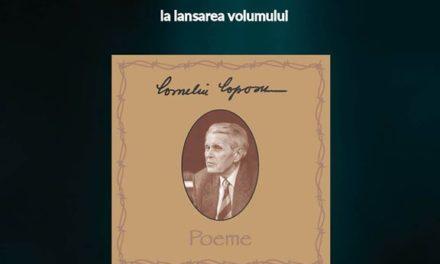 """Lansare """"Poeme"""" de Corneliu Coposu – Oradea"""