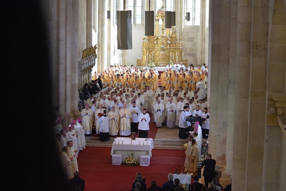 Consacrarea noului Arhiepiscop de Alba Iulia, Mons. Gergely Kovács