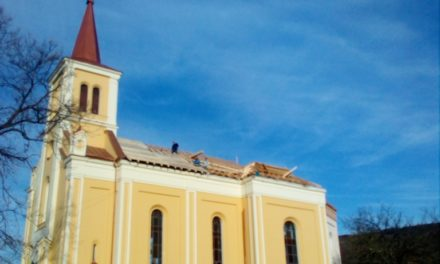 Informare privind stadiul lucrărilor de reabilitare totală a  Bisericii monumentale din Vintere
