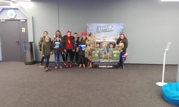 Copii din Moftinu Mic și Domănești la film
