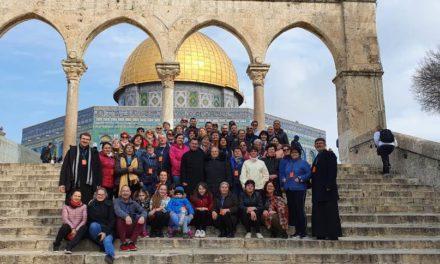 Bucuria de a fi pe urmele lui Isus și redescoperirea frumuseții unității Bisericii lui Hristos în diversitate