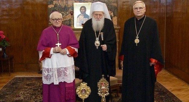 Dar al Papei pentru Patriarhul bulgar Neofit