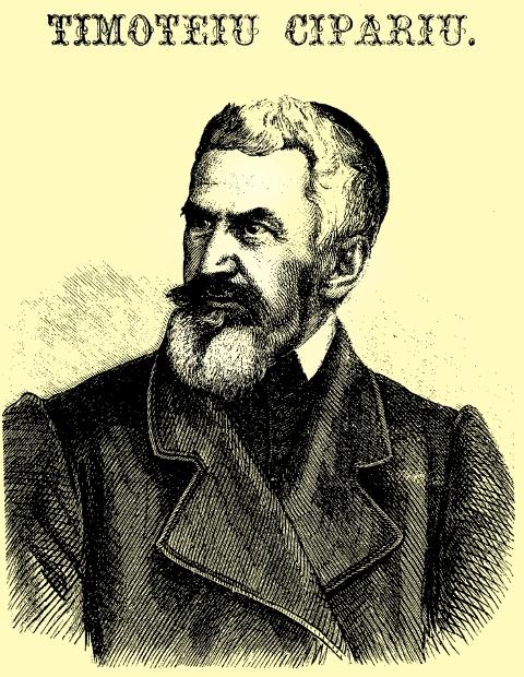 Canonicul Timotei Cipariu,  fondatorul filologiei româneşti şi a lingvisticii noastre istorice