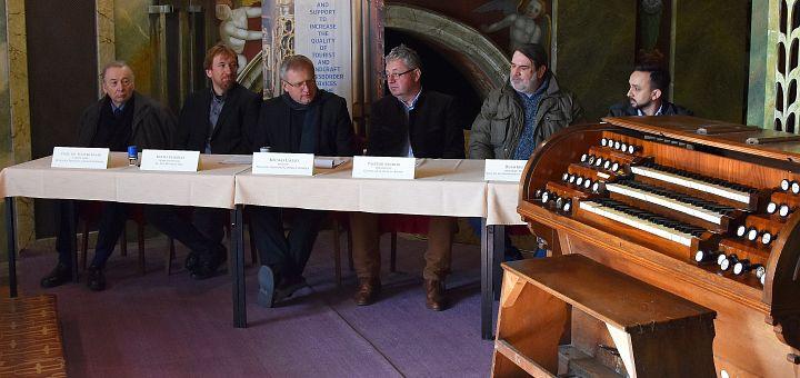 Restaurarea orgii mari a Catedralei Romano-Catolice din Oradea