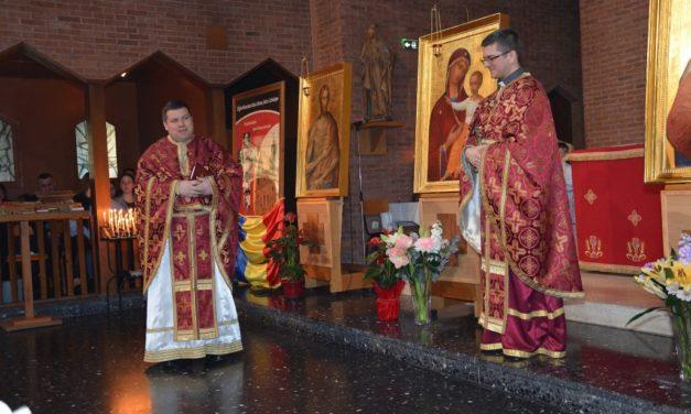 Episcopul ales, Pr. Cristian Crișan, și-a luat rămas bun de la credincioșii din Paris