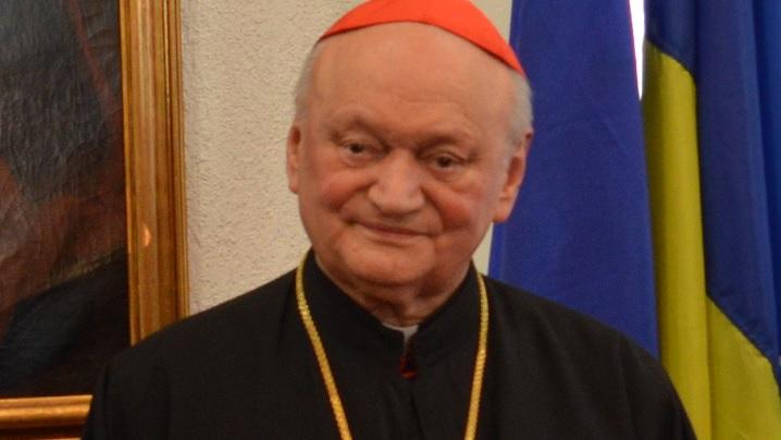 Cardinalul Lucian mulțumește Sfântului Părinte pentru echipamentele medicale donate României