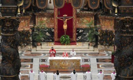 """Joia Sfântă cu papa Francisc: o celebrare """"neobișnuită"""" în ultimele patru secole"""