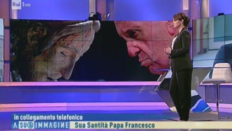 Papa Francisc, în direct la RAI1