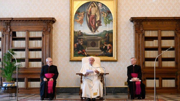 Papa Francisc: Ca să-L vedem pe Dumnezeu, trebuie să curățăm inima de orice înșelăciune