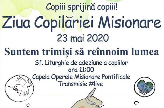 Ziua Copilăriei Misionare Pontificale (CMP) 2020