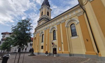 Piațetă lângă Catedrala Sf. Nicolae – Lucrările au fost încheiate