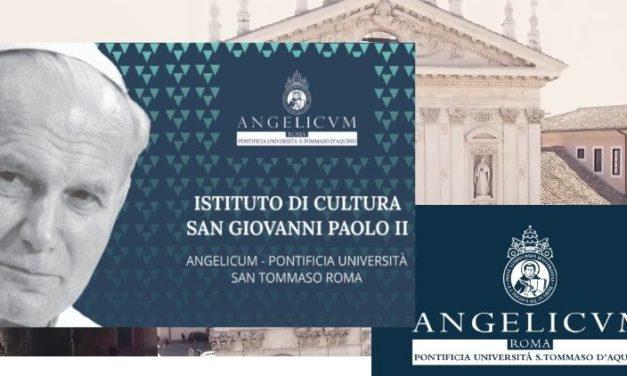 """La """"Angelicum"""", Institutul de cultură """"Ioan Paul al II-lea"""". Scrisoarea papei Francisc"""