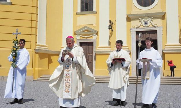 Episcopul Böcskei László singurul pelerin de ziua Sf. Ladislau