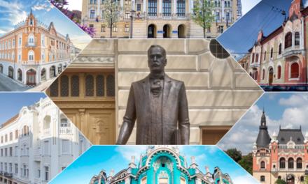 Statuia marelui arhitect orădean Rimanóczy Kálmán Jr a fost dezvelita în Oradea