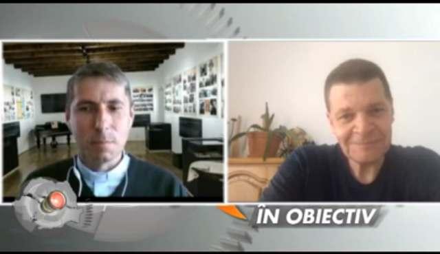 """Părintele Cristian Borz la emisiunea """"Regiunea în obiectiv"""""""