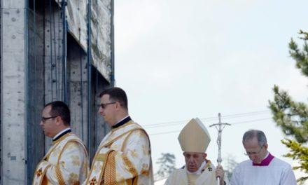 Vizita Sfântului Părinte Papa Francisc la Blaj în imagini