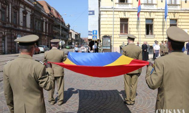 Ziua Drapelului Naţional, marcată la Oradea