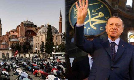 Președintele Erdogan îl invită pe Papa Francisc la deschiderea moscheii Hagia Sofia
