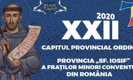 Al XXII-lea Capitul Provincial Ordinar al Fraților Minori Conventuali din România