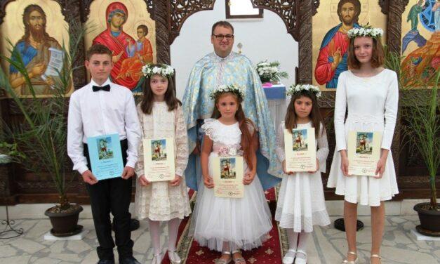 Prima Spovadă și Împărtășania Solemnă în parohia Horoatu Crasnei