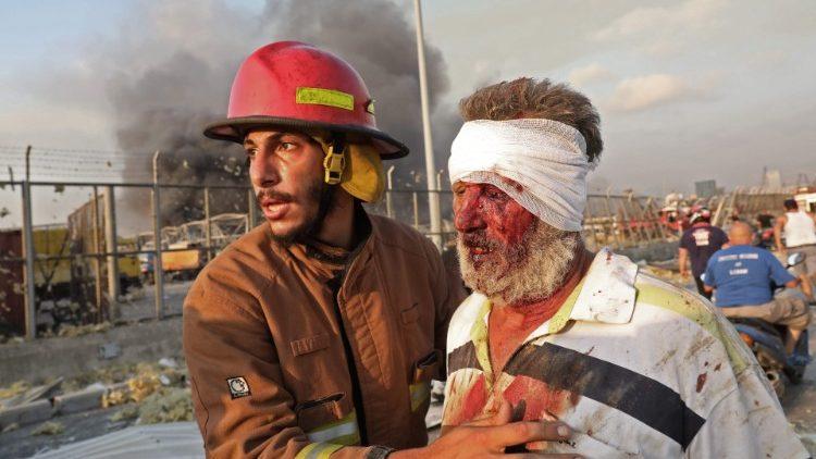 Să ne rugăm pentru Liban. Papa Francisc alături de libanezi în acest moment tragic