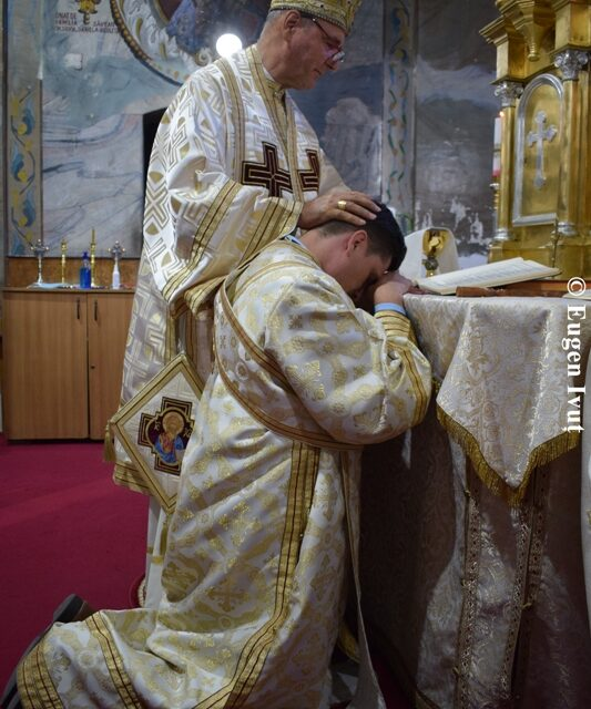 Hirotonirea întru diacon a părintelui Simion Vasile Terec