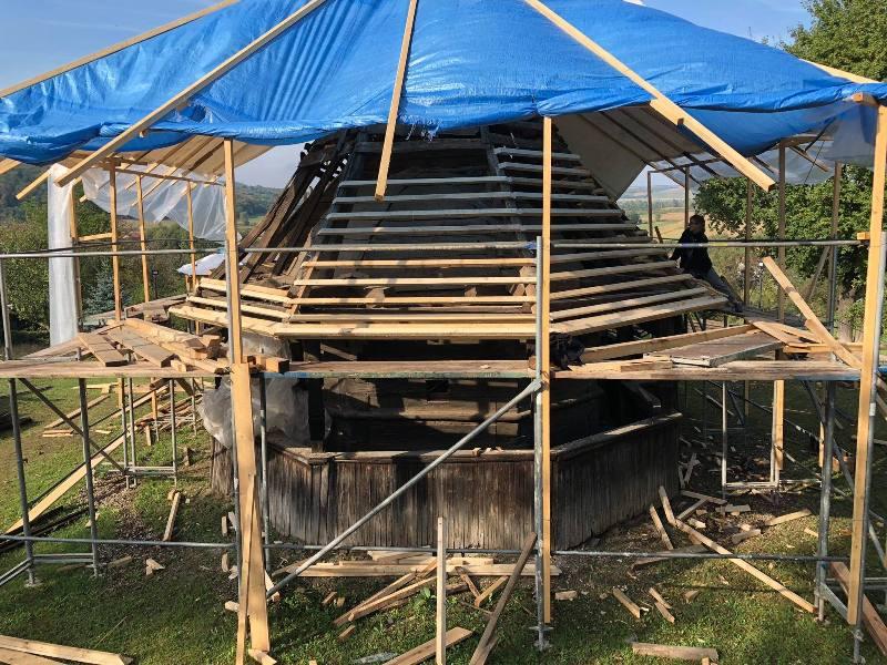 Intervenția de la bisericuța de lemn din Porț