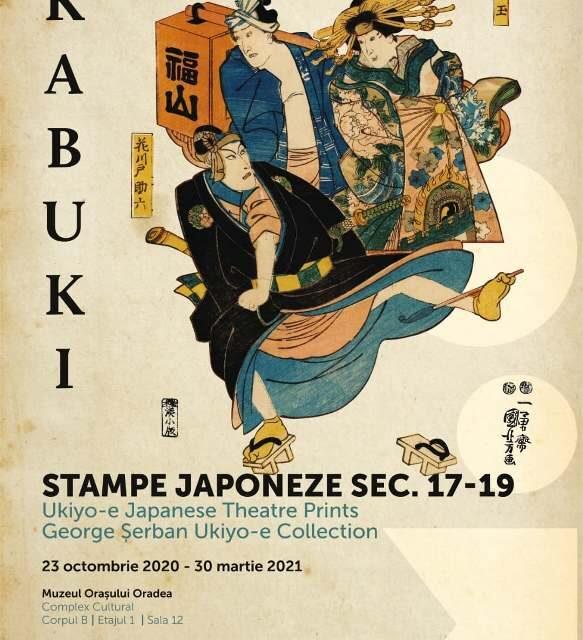 COMUNICAT DE PRESĂ:  Kabuki. Stampe japoneze