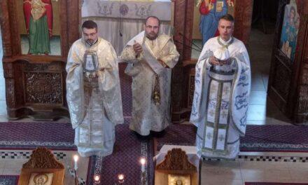 Vizita părintelui Antoniu Chifor în Parohia Băile Felix