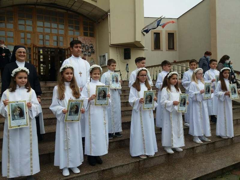 Prima Împărtășanie solemnă la Zalău