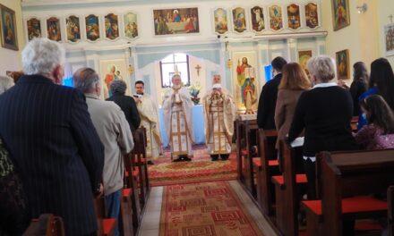 Seminariștii orădeni în vizită la Sânmartin