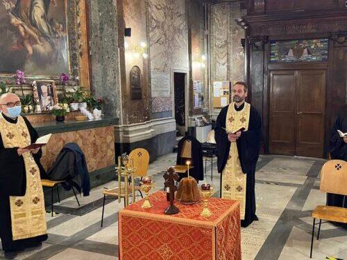 Slujbă de pomenire în amintirea episcopului Inocențiu Micu Klein