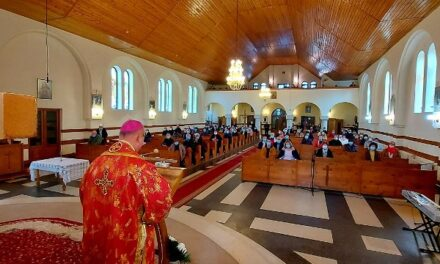 Începutul Postului Nașterii Domnului la Mănăstirea Franciscană