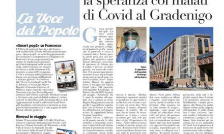 Părintele Adrian Hancu, speranța bolnavilor de Covid din spitalul Gradenigo, Torino