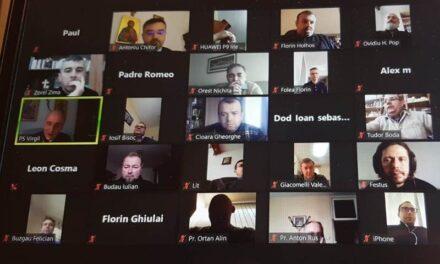Întâlnire online a preoților din Episcopia de Oradea