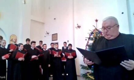 Preasfințitul Virgil a fost colindat de către seminariștii din Cluj