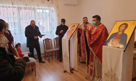 Vizita Părintelui vicar cu preoții în Parohia Salonta