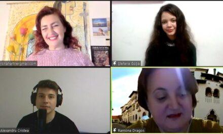 Rona Hartner și tinerii din Zileos