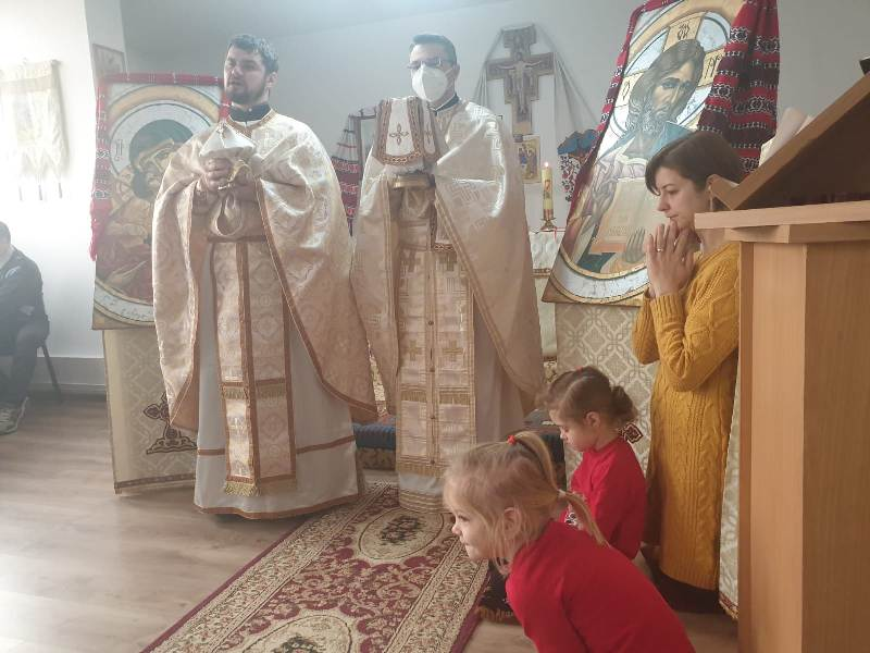 Prima vizită în parohii a părintelui vicar cu preoții în anul 2021