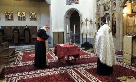 Cardinalul Sandri: pomenire la Pio Romeno a regretatului episcop Florentin