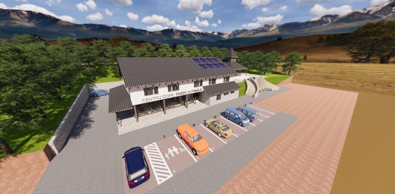 Să construim împreună- Centru Pastoral în Stâna de Vale