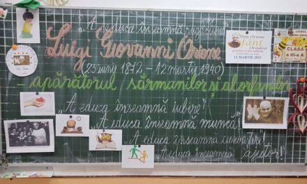 """Zi de sărbătoare la Liceul """"Don Orione"""" Oradea"""