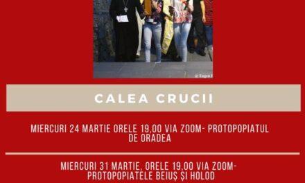 Invitație: Calea Crucii alături de tineri