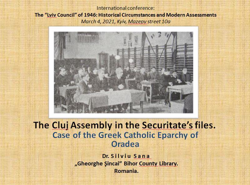 Lichidarea Bisericii Greco-Catolice din Ucraina – Conferinţa istorică internaţională la Kiev