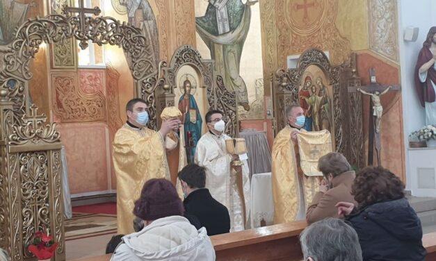 Vizita părintelui vicar cu preoții la Zalău